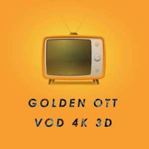 Abonnement GOLDEN OTT 4K IPTV 12 mois
